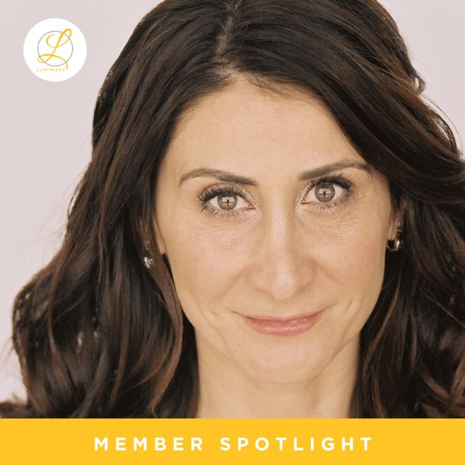 Meet Luminary Member,Arezou Kohan
