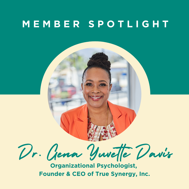 Meet Luminary Member, Dr. Gena Yuvette Davis