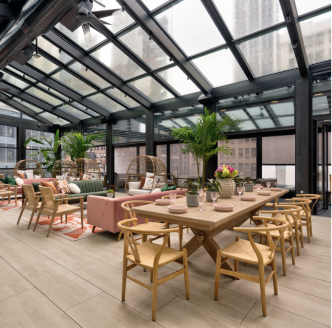 #22. The Glass Ceiling: 22 Stunning NYC Rooftop Bars Open For The Perfect Spring Evenings